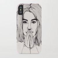 bjork iPhone & iPod Cases featuring Bjork by Paul Nelson-Esch Art