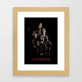 Catching Fire Framed Art Print