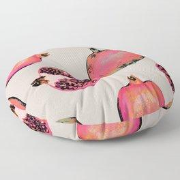 Pomegranate Pattern Floor Pillow