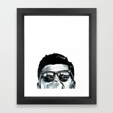 JFK Framed Art Print