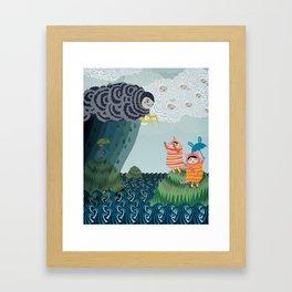 grumpy grumpy Framed Art Print