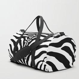 Zebra print Duffle Bag