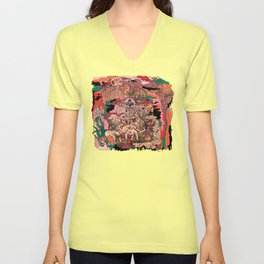 Village of Forest Unisex V-Neck