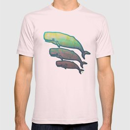 Whales Swimming Together T-shirt