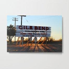 Gila Bend  Metal Print