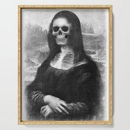 Mona Lisa - Xray Serving Tray