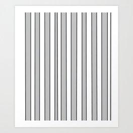 Strips 9-line,band,striped,zebra,tira,linea,rayas,rasguno,rayado. Art Print