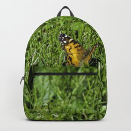 Butterfly In A Field Backpack