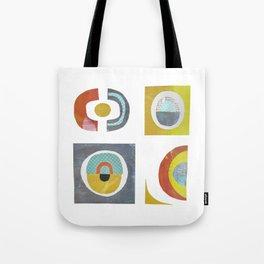 HAA-0121 Cutout Geometrics 47x47 Tote Bag