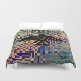 Eagle Totem Duvet Cover