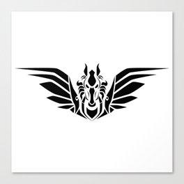 Pegasus (B/W) Canvas Print