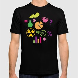 Neon Scientist T-shirt