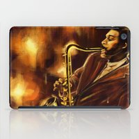 jazz iPad Cases featuring Jazz by Linarts