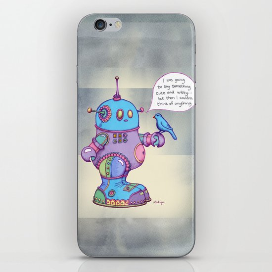 I was going to say something cute and witty... iPhone & iPod Skin