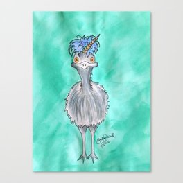 Emunicorn Canvas Print
