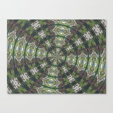 'The Star' Kaleiscope Canvas Print