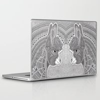 donkey Laptop & iPad Skins featuring Donkey by Olya Goloveshkina