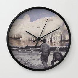 icecaps Wall Clock