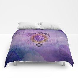 Decorative tribal dragon Comforters
