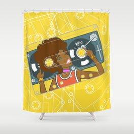 Köpke's Mixtape Shower Curtain
