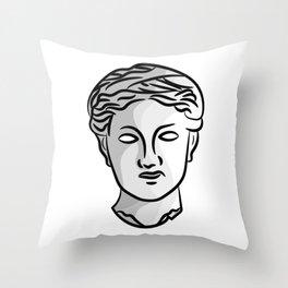 Ceres portrait Throw Pillow