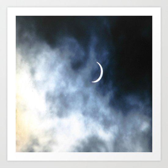 Eclipsed Art Print