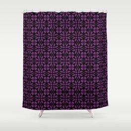 Purple Apocalypse Shower Curtain