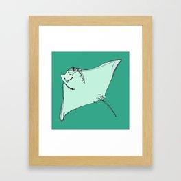 Sting Ray Framed Art Print