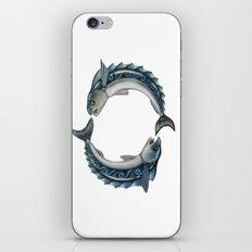 Fish Circle iPhone & iPod Skin