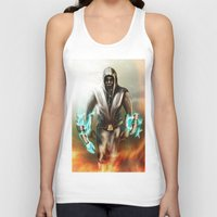 hero Tank Tops featuring Hero by ED Art Studio