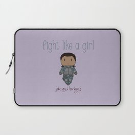 Fight Like a Girl 29 - Jacqui Briggs Laptop Sleeve
