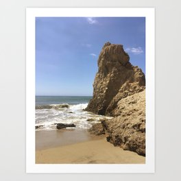 El Matador Beach California Art Print
