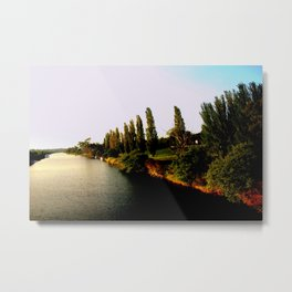 Cruising down the Thompson River Metal Print