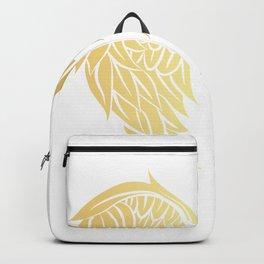 Golden Wings Art Backpack