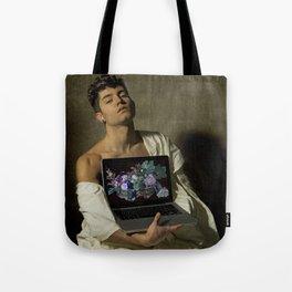 Caravaggio - Fanciullo con canestro di frutta Tote Bag