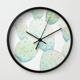 Sunset Cactus Wall Clock