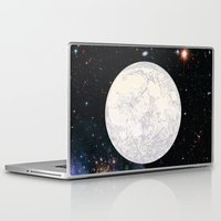 earthbound Laptop & iPad Skins featuring Moon machinations by anipani
