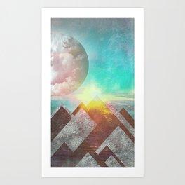 Ocean Space 2 Art Print