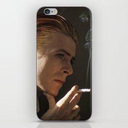 Smokin' Bowie iPhone Skin