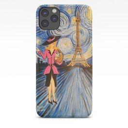 A Starry Night in Paris  iPhone Case
