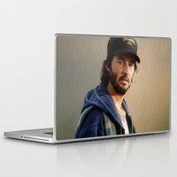donnie darko Laptop & iPad Skins featuring Donnie by tillieke