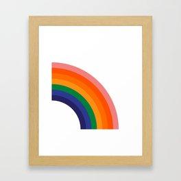 Fresh Bow - Right Framed Art Print