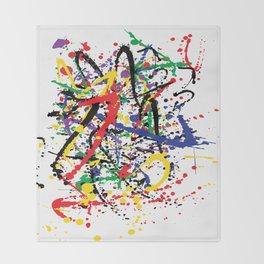 Pollock Remembered by Kathy Morton Stanion Throw Blanket