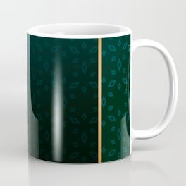 Emerald and Gold Accents Coffee Mug