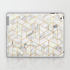 Marble hexagonal pattern Laptop & iPad Skin