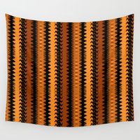 western Wall Tapestries featuring Western Style Pattern by apgme