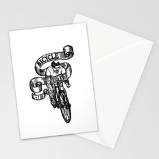 Bicycle Rider Stationery Cards