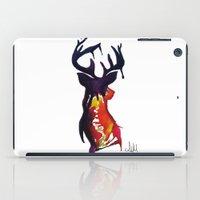 reindeer iPad Cases featuring reindeer by Armyhu