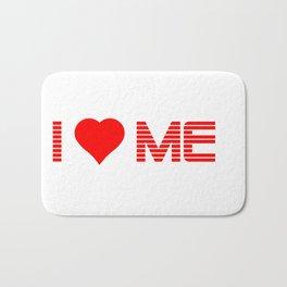 Valentine's - I Love Me (Heart) Bath Mat