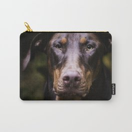 Red Dobie Carry-All Pouch